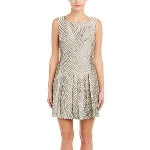Nanette Lepore Zebra A-Line Dress